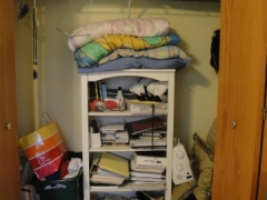 Home Office Storage Before