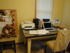 Home Office Before