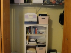 Home Office Storage After