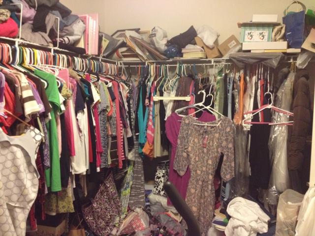 2 Closet before