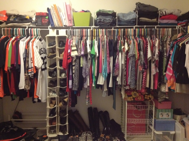 4 Closet after