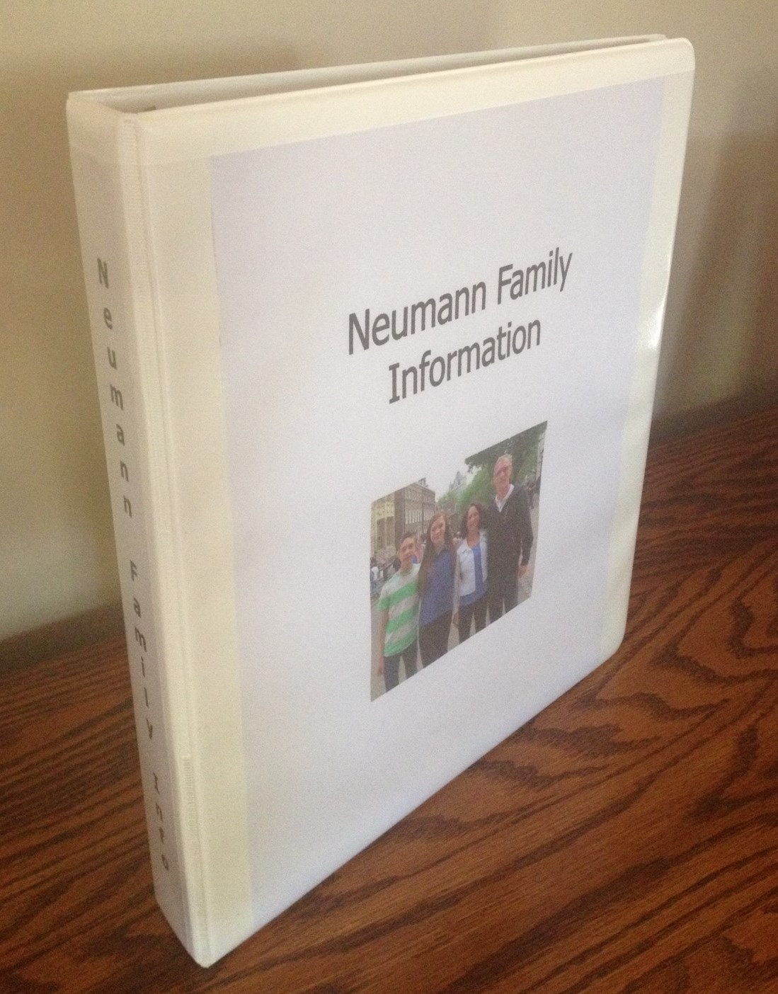 Organize Family Information