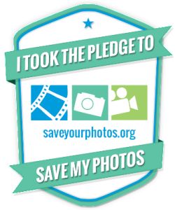 Take the pledge to Save Your Photos