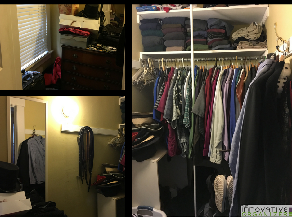 closet transformation before
