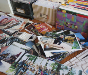 organize printed photos